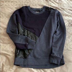 Madewell Patchwork Sweatshirt